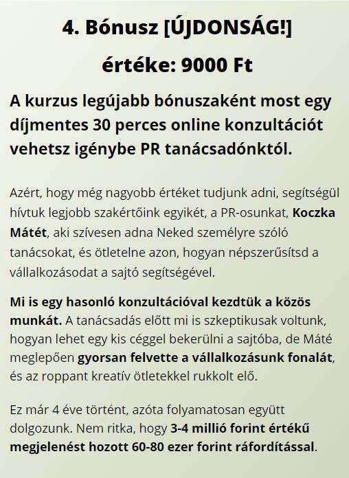 PR tanácsadás Koczka Máté